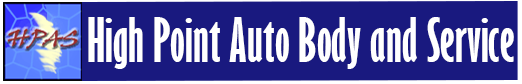 Logo, High Point Auto Body and Service - Auto Repair Shop