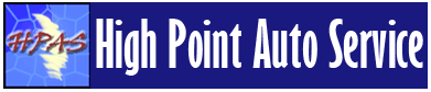 Logo, High Point Auto Service - Auto Repair Shop